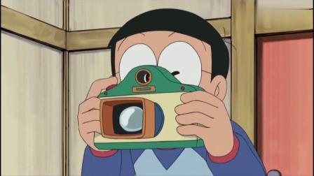 哆啦A梦:大雄真皮,定格哆啦A梦吃铜锣烧