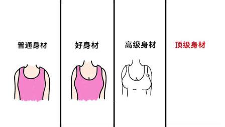 """女人""""好身材""""的不同等级,太形象了!顶级身材果然不一样"""