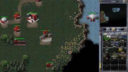红色警戒1原版苏联战役第七关——远处雷声