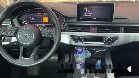 青岛汽车音响改装--奥迪A4升级彩虹音响