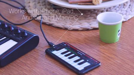 iRig Keys 2 Mini 超便携MIDI键盘控制器.mp4