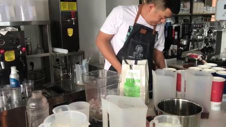邢台奶茶培训学校-茶九度珍珠奶茶