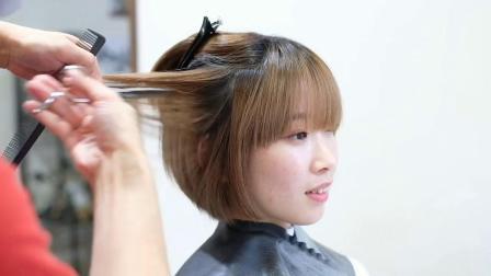 适合每位女生修剪的超短发,发型师必学的一款短发修剪