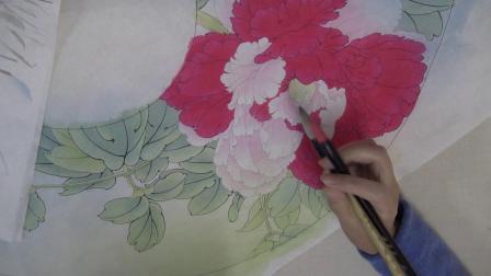 凌达教您画工笔-《牡丹二乔》006