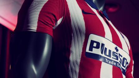 马德里竞技2020-21赛季新款球衣复古来袭!