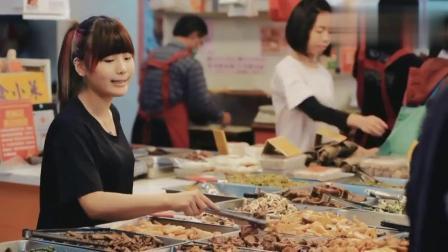 味道中国:女孩最爱的粘粘打糕,人工一锤一锤打出的米糕超有食欲