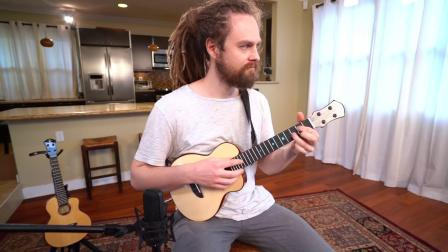 丹麦乌克丽丽吉他手Tobias Elof - Lazy Sunday