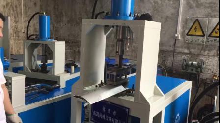 扁铁自动液压冲孔压断数控调节 铝合金型材同时打3个孔
