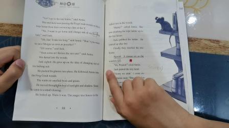 7.3《神奇树屋》~冰原上的剑齿虎01
