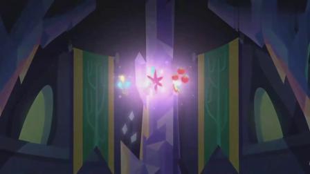 小马宝莉:可爱标志结合起来,小马谷在哪里,紫悦非常头疼!