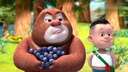 熊熊乐园:熊大和吉吉总是争吵,光头强的办法能让他们全好吗
