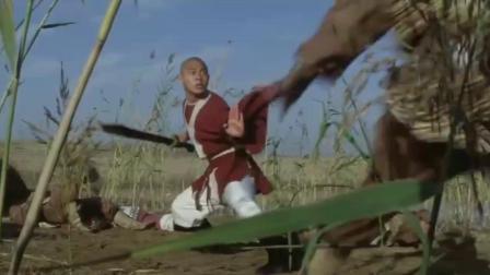 少林寺-电影师父带着弟子大开戒