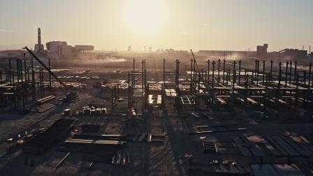 戈壁建起工业园.mp4