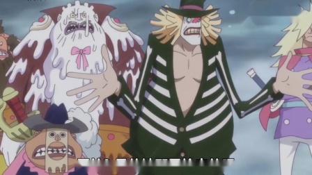 海贼王国语:娜美的5次被吃豆腐,一个是小孩,一个是骷髅