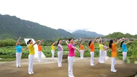 遂昌县广场舞(排舞)协会(父亲的草原母亲的河)