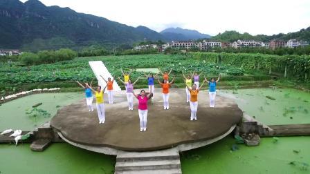 遂昌县广场舞(排舞)协会(站在草原望北京)