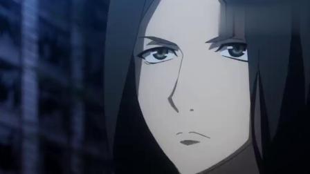 弥琉从背后牵制黎昕,不料他背后竟长出刀来,瞬间把弥琉风衣切碎