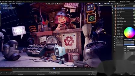 在Blender Cycles Update 2.83中借助NVIDIA RTX实现更快速的渲染