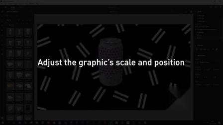 将自定义图形应用于Adobe Dimension中的对象|NVIDIA Studio片段
