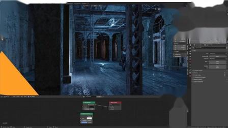 如何使用Ben Mauro在Blender2.8/Eevee中创建实时雾化效果|NVIDIA Studio片段