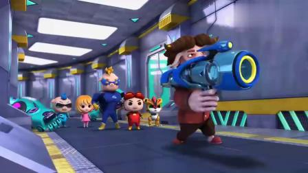 猪猪侠超星萌宠:猪猪侠和超人强回来了,迷糊博士没被救出来!