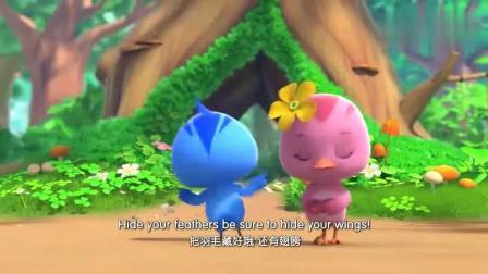 萌鸡小队:英文版的萌萌哒小鸡们