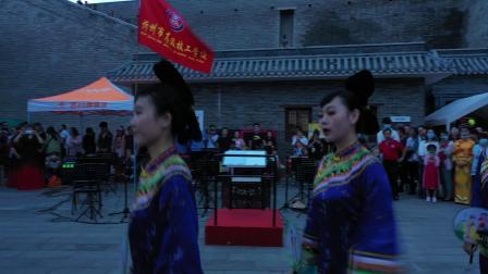 忻州市高级技工学校(团扇舞),张锁元摄