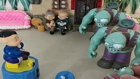 小猪佩奇玩具:小强强把小鬼踢走了,小强强和小鬼都两了两个爸爸,这要如何辨别.mp4