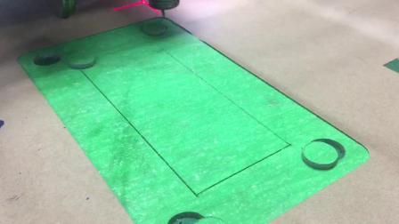 飞科智能石棉垫片密封圈气动枪头圆刀单层多层切割机裁切机