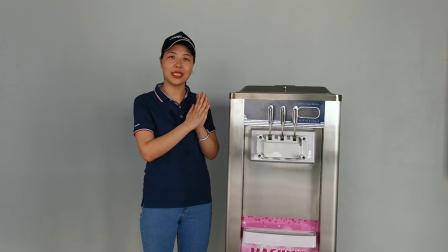 BQ820柜式双口味软冰淇淋机