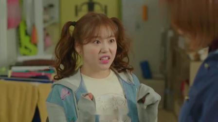 举重妖精金福珠:金福珠扎两个小辫的样子,真是可爱啊!
