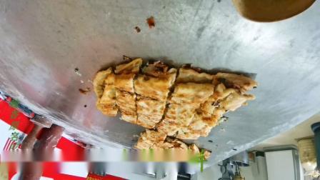 郑州香葱大饼的做法,降低制作成本,好吃之因。
