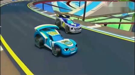旋风战车队:飚速和伙伴们,一起比赛赛车,飚速却拿着披萨!