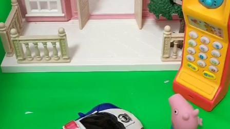 小鬼去乔治家里看看有没有吃的,乔治回来了,发现门开了赶紧找警察帮忙