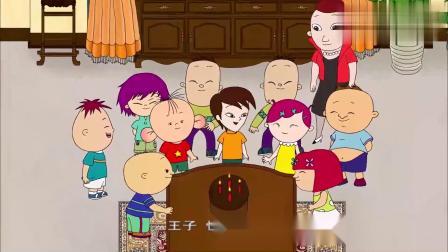 大耳朵图图:蛋糕被玩没了,多亏有图图妈做的巧克力蛋糕!