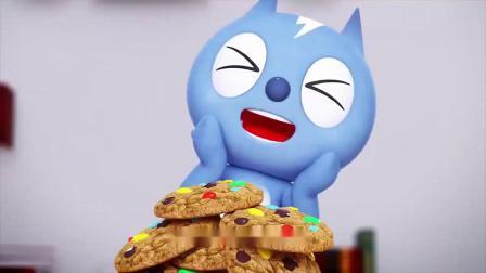 迷你特工队:饼干大王的饼干到受了欢迎,弗特也赶紧去买饼干了