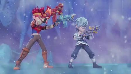 星兽猎人:他们要加油呀,对付最厉害的凶兽,星成和波奇联手