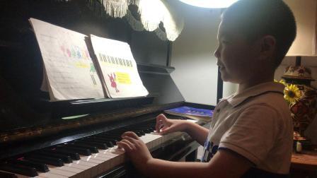 """第六课 小汤一 乐曲""""小矮人进行曲"""" 孩子们的拜厄上 28页 变奏4"""