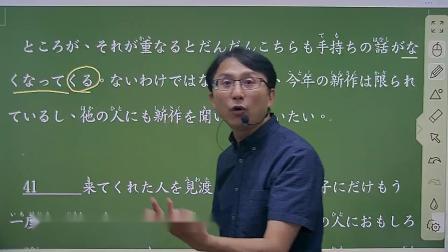 N1閱讀講解教學--JLPT日本語能力試驗N1閱讀解析--何博士日檢解題