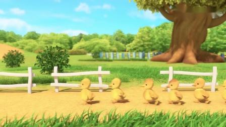 巴塔木流行儿歌:这里这么多小鸭子,毛茸茸的好可爱,好想摸一摸