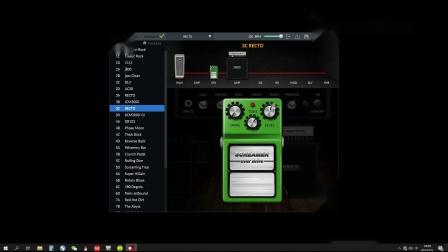 从0开始制作美式高增益音色NUX MG300电吉他效果器
