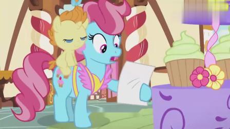 小马宝莉:碧琪做了568个纸杯蛋糕,差点打破了自己的记录!