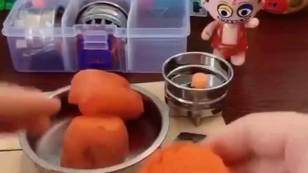 小哪吒要压胡萝卜花,怎么变成这样了,究竟怎么回事?.mp4