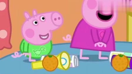 小猪佩奇:佩奇和乔治帮猪奶奶做美味的布丁