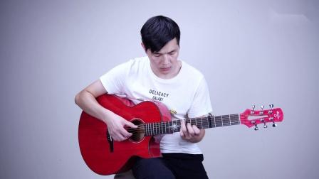 吉他泛音版《未闻花名》,安静空灵的声音