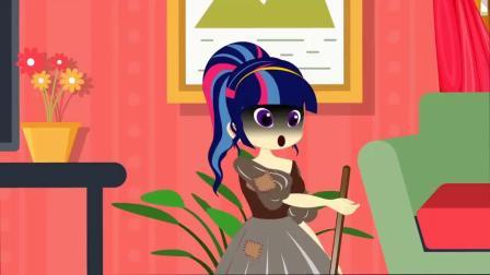 紫悦还在不停的工作,她的工作是什么小马国女孩游戏