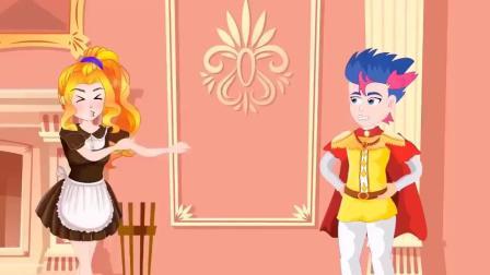 紫悦采了一篮鲜花,是要拿去做什么呢小马国女孩游戏