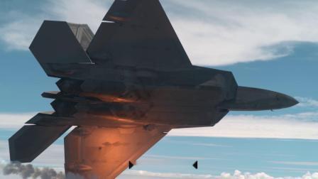 Phantom Flex4k镜头下的F22超音速战斗机