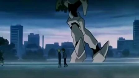 数码宝贝, : 奥米加兽+帝皇龙甲兽! 究极体合体, 超越神的圣骑士