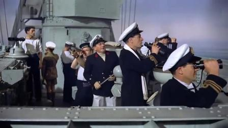 发现纳粹战列舰,英国皇家海军逢敌必战,直接开炮